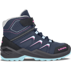 Lowa Maddox Warm GTX Stiefel Kinder navy/berry